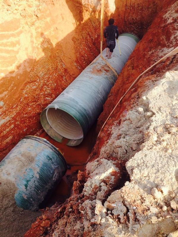 PVC-U玻璃钢复合缠绕管